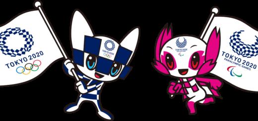 De officiella maskotarna för de olympiska spelen i Tokyo 2020