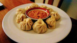 Momos, en nepalesisk delikatess